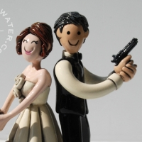 Jose and Mary Cake Topper 2014
