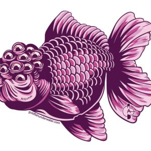 Mutant Goldfish (sticker)