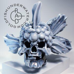 Skullfish, front (print)