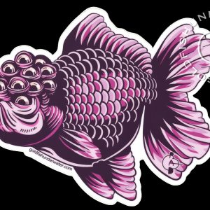 Mutant Goldfish (sticker)