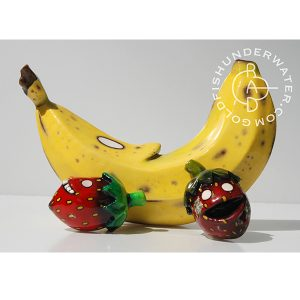 Banana and Berries (print)