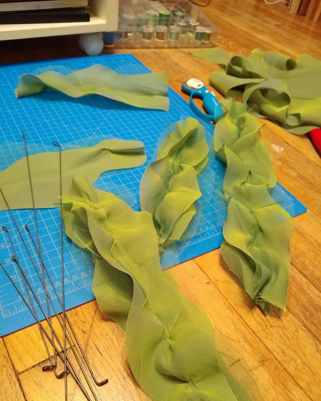 Sewing seaweed 🧵🥬